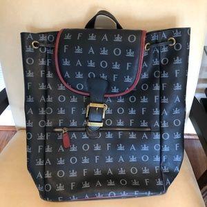 Handbags - FAO Schwartz leather backpack